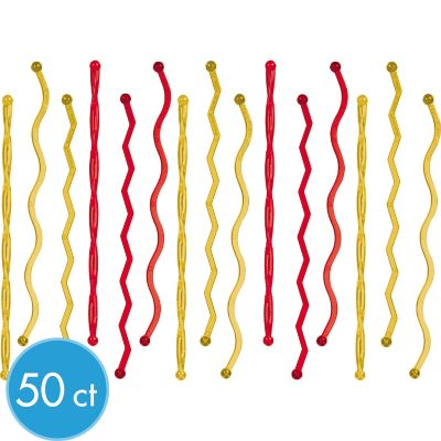 Holiday Plastic Stirrers 50ct