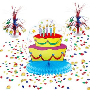 Birthday Table Decorating Kit 11pc