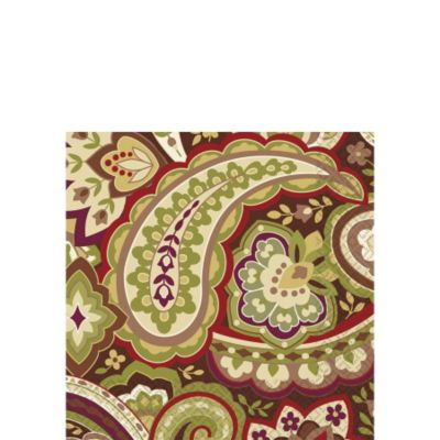 Warm Paisley Beverage Napkins 16ct