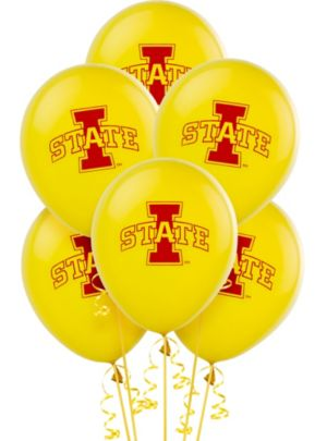 Iowa State Cyclones Balloons 10ct