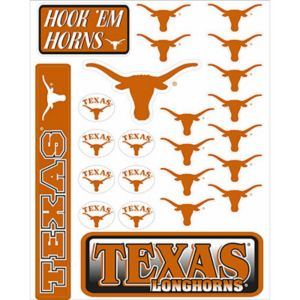 Texas Longhorns Decals 18ct