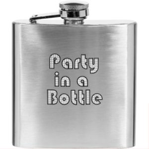 Party in a Bottle Flask