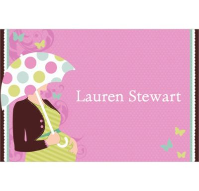 Custom Great Expectations Baby Shower Thank You Notes