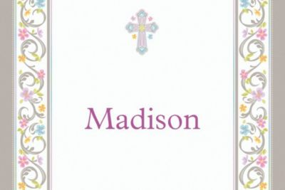 Custom Blessed Day Thank You Notes