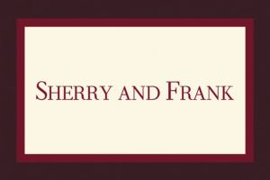 Custom Burgundy Austere Border Thank You Notes