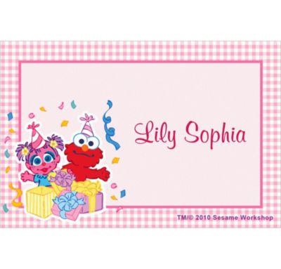 Custom Abby Cadabby 1st Birthday Thank You Notes