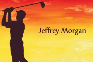 Custom Sunrise Golfer Thank You Notes