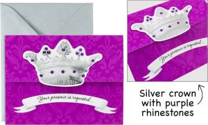 Her Majesty Large Invitations 8ct
