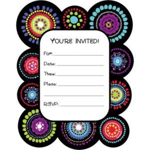 Graphic Fun Invitations 50ct