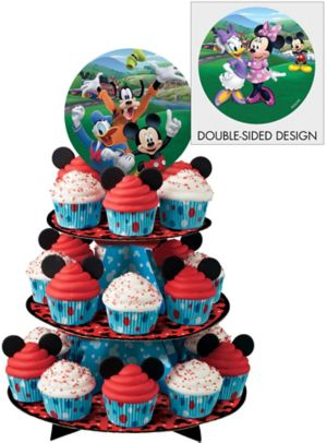 Mickey Mouse Cupcake Stand Holds 24