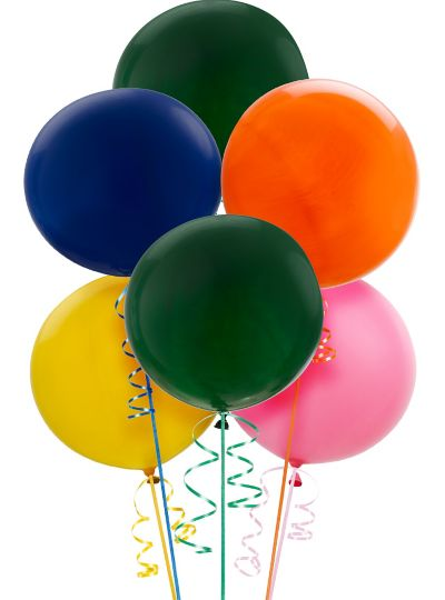 Premium Assorted Balloons 6ct