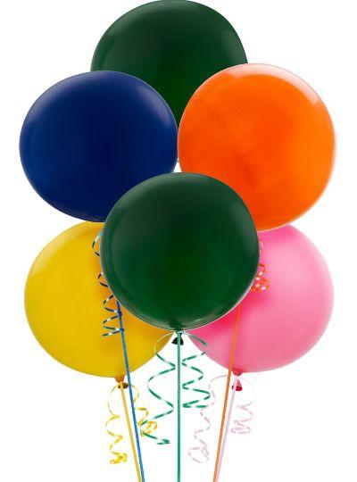 Premium Assorted Balloons 6ct