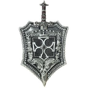 Crusader Shield and Sword Set