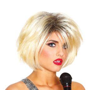 80s Diva Blonde Wig