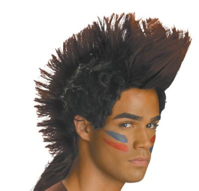 Native American Warrior Wig