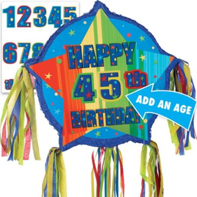 Pull String A Year to Celebrate Personalized Pinata