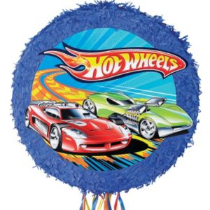 Pull String Hot Wheels Pinata