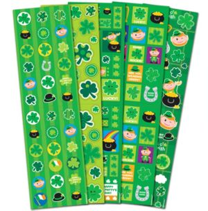 St. Patrick's Day Stickers 5 Sheets