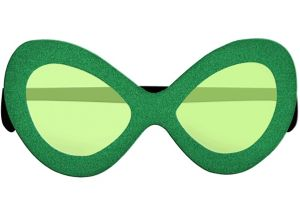 St. Patrick's Day Diva Sunglasses