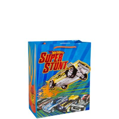 3D Hot Wheels Gift Bag