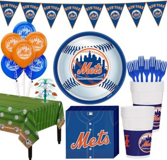 New York Mets Super Party Kit for 16 Guests