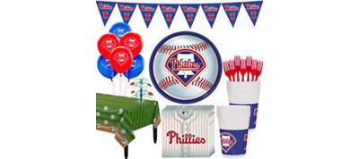 Philadelphia Phillies Super Party Kit for 16 Guests