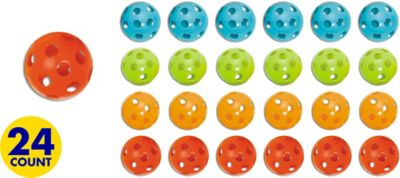 Colorful Plastic Balls 24ct