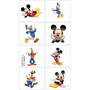 Mickey Mouse Tattoos 1 Sheet