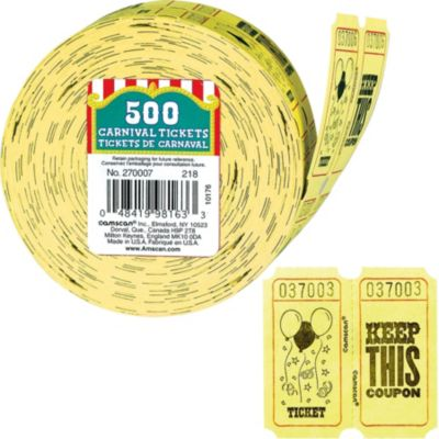 Ticket Roll 500ct