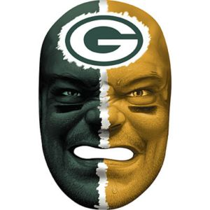 Green Bay Packers Fan Face Mask