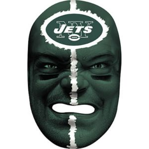 New York Jets Fan Face Mask