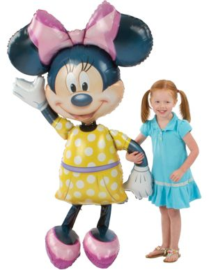 Minnie Mouse Balloon - Gliding