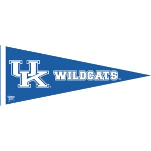 Kentucky Wildcats Pennant Flag