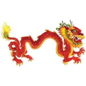 Chinese New Year Dragon Jointed Banner 6ft
