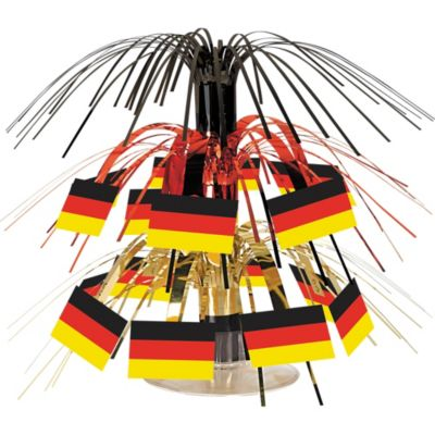 Mini Cascade German Flag Centerpiece