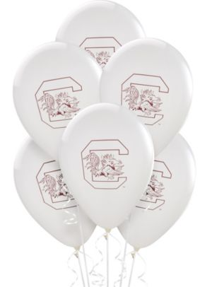 South Carolina Gamecocks Balloons 10ct