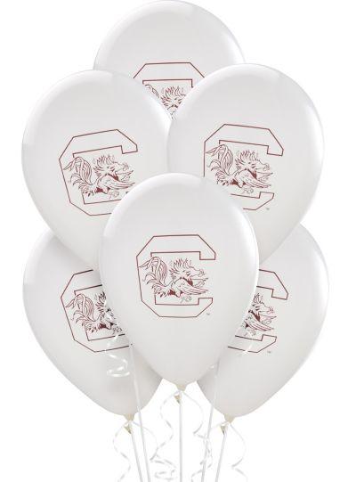 South Carolina Gamecocks Latex Balloon 12in 10ct