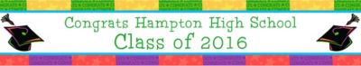 Way to Go Grad Custom Graduation Banner