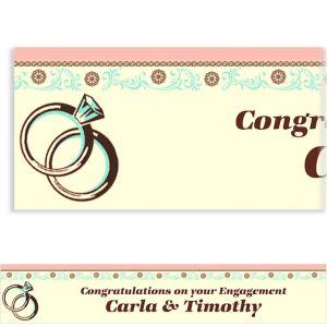 Custom Bridal Shower Day Banner 6ft