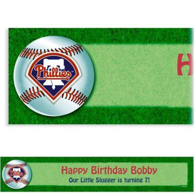 Philadelphia Phillies Custom Banner 6ft