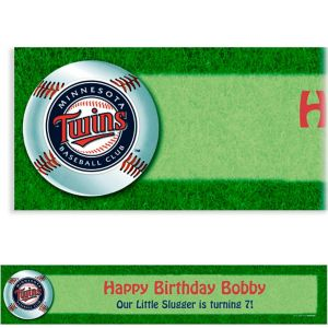 Custom Minnesota Twins Banner 6ft
