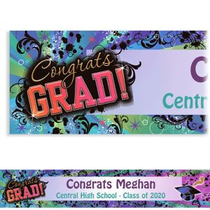 Custom Grad Reflections Banner 6ft