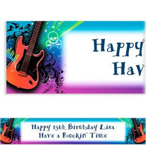 Custom Rock Star Banner 6ft