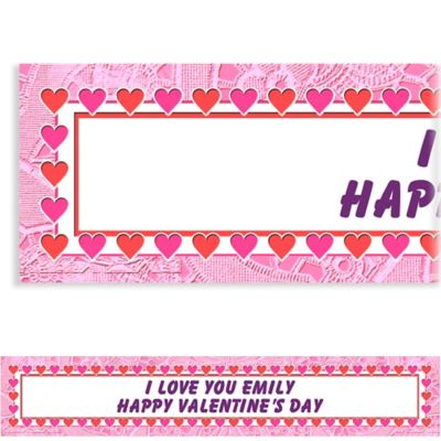 Custom Key To Your Heart Valentine's Day Banner 6ft