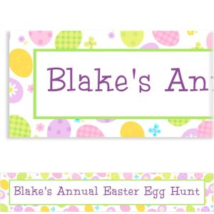 Custom Eggstravaganza Easter Banner 6ft
