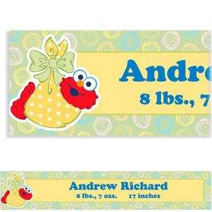 Custom Baby Elmo Baby Shower Banner 6ft