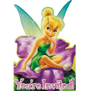 Tinker Bell Invitations 8ct