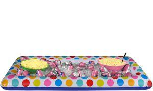 Polka Dot Inflatable Buffet Cooler