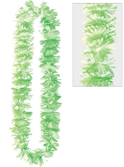 Summer Breeze Green Lei