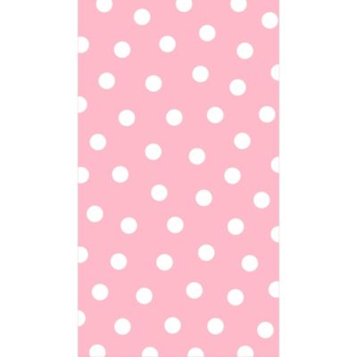 Pastel Pink Polka Dot Guest Towels 16ct